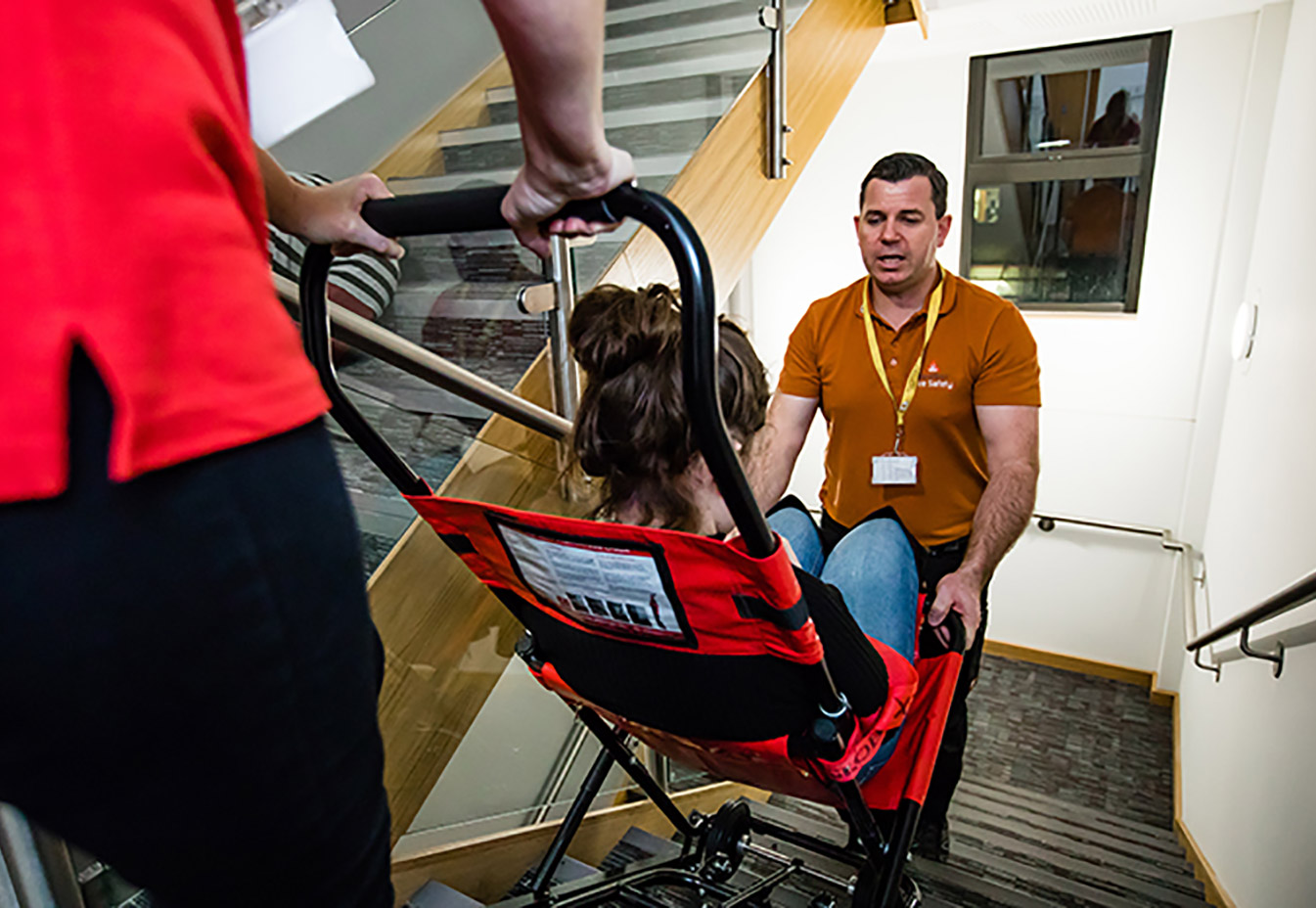 Evacuation chair training - a beginners guide