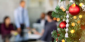 Fire safety in the workplace at Christmas